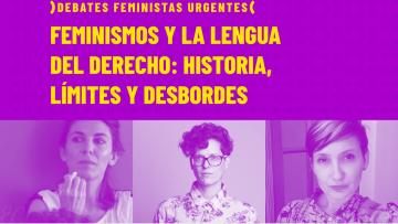 Feminismos y la lengua del derecho, otro debate urgente