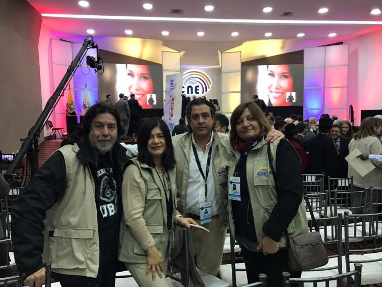 Constitucionalista de la UNCuyo participa como observador en elecciones de Ecuador