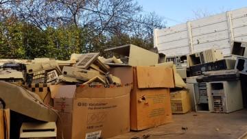 En una acción conjunta, Capital retiró desechos electrónicos del Hospital Universitario