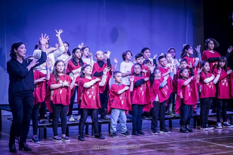 El Coro de Niños y Jóvenes actuará con su par de San Juan