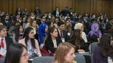 Más de 150 universitarios representaron Asamblea de la ONU