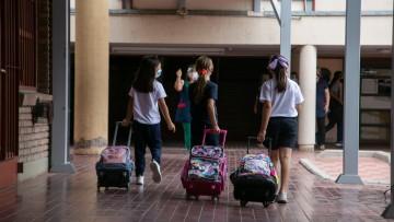 Cómo funcionó la presencialidad en la Escuela Carmen Vera Arenas en su primera semana