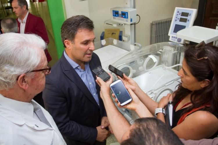 Diez incubadoras del Hospital Universitario se utilizarán en el Notti