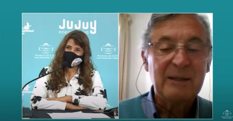 Pizzi participó de la presentación virtual del diplomado Ley Micaela para Jujuy