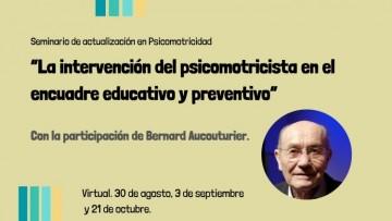 Especialistas dictarán un seminario de actualización en Psicomotricidad