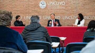 La UNCUYO y Film Andes se asocian para desarrollar contenidos audiovisuales y propuestas culturales
