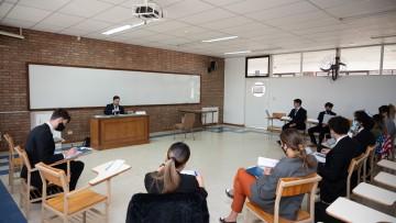 Universitarios se preparan para ser ciudadanos globales en simulacro de Naciones Unidas