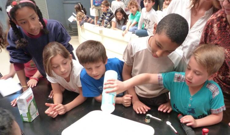 Chicos se acercaron al mundo de la ciencia