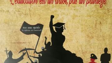 Estudiantes del Martín Zapata se ocuparon del Mayo Francés y la Reforma Universitaria