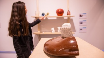 Investigación pionera sobre porcelana: ensayan nuevas tecnologías y modos de producción innovadores