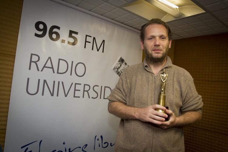Periodista de Radio Universidad ganó Martín Fierro