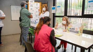 Vecinos de barrios del Oeste accedieron a chequeos primarios de salud