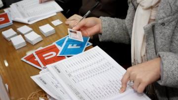 Horarios de votación de cada candidato