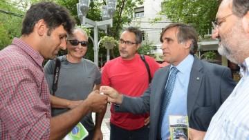 Mendoza recibió a tres docentes brasileños protagonistas de una singular experiencia educativa ambientalista