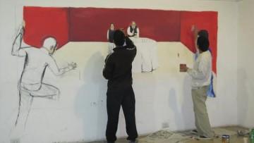 Inauguran murales de estudiantes de Artes en Radio Nacional