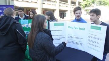 Muestra de ciencia y tecnología para estudiantes del secundario