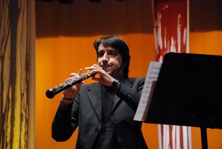 Concierto de reconocido oboísta italiano en la Nave