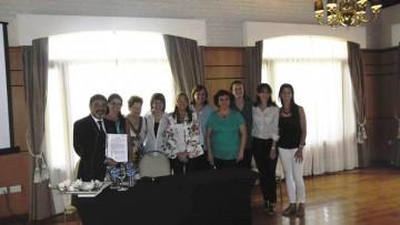 Odontólogo de la UNCuyo protagonizó encuentro de capacitación en Corrientes