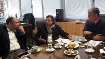 Representante de la fundación Konrad Adenauer visitó la UNCuyo