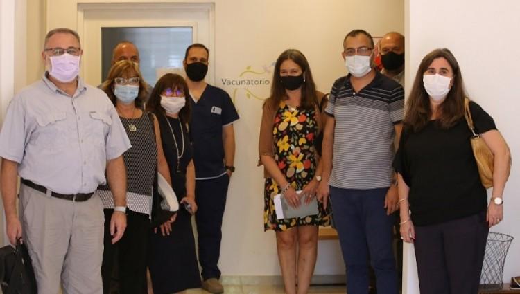 Operativo Vacunación COVID-19: la ministra Nadal coordinó detalles con autoridades de Ciencias Médicas