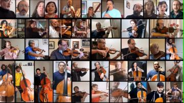 La Orquesta Sinfónica de la UNCUYO continúa con su ciclo de conciertos virtuales