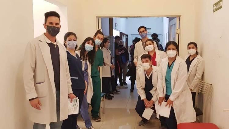 Se testearon a 109 personas para detectar VIH