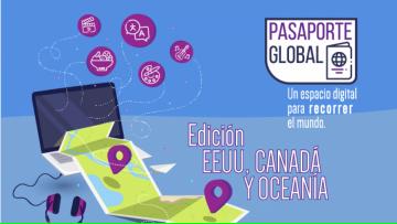 Charlas y contenido virtual para descubrir Estados Unidos, Canadá y Oceanía