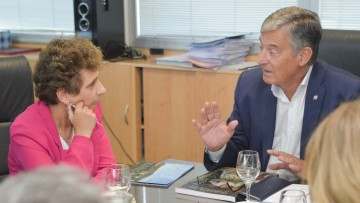 La embajadora de Israel visitó la UNCUYO