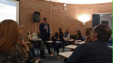Profesores compartieron sus experiencias de movilidad en el exterior