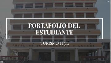 """""""El portafolio del Estudiante de Turismo"""", un blog para publicar producciones exitosas"""