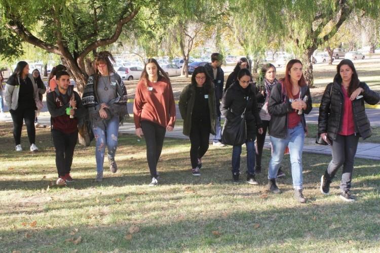 Universitarios promovieron el cuidado del medioambiente