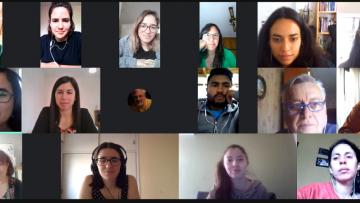 Integrantes del Proyecto Mauricio López reflexionaron sobre las tareas realizadas en pandemia