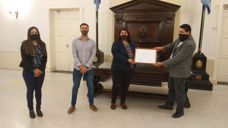 Programa de Voluntariado de la UNCUYO, reconocido por la Legislatura Provincial