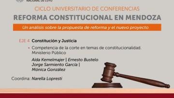 Reforma constitucional: finaliza el análisis de especialistas de la UNCUYO
