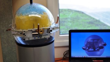 Robot subacuático creado por egresado del Balseiro recibió premio