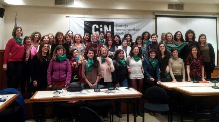 Red Universitaria de Género se incorporó al CIN