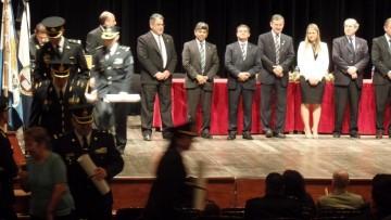 Se recibieron nuevos egresados del Instituto Universitario de Seguridad Pública