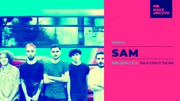 """SAM despide su primer disco """"El culto del sol"""" en la Nave UNCUYO"""