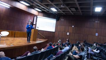 """Sebastián Campanario: """"La Universidad tiene que mejorar la interfaz público privada con transferencia de conocimientos"""""""