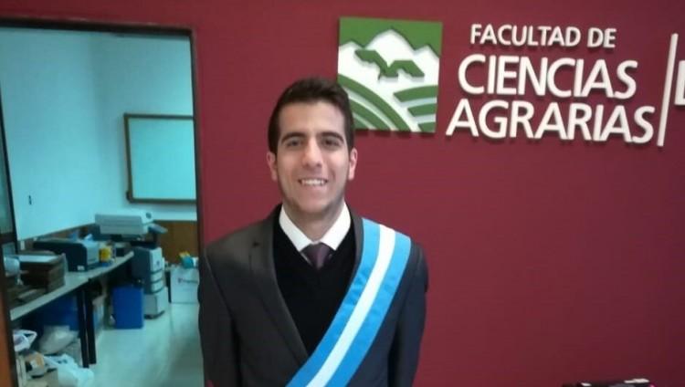 imagen que ilustra noticia Estudiante de la UNCUYO expondrá en la Tercera Cumbre Ambiental de Latinoamérica