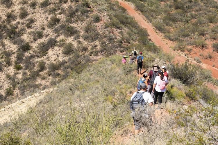 Promueven caminatas turísticas para la comunidad universitaria