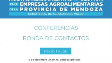 Empresas agroalimentarias tendrán capacitaciones gratuitas en San Rafael