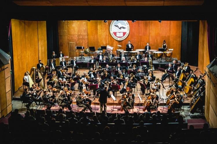 La Sinfónica en concierto junto a coros juveniles de la UNCUYO