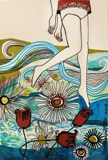 Muestra artística y workshop de muralismo en el ITU