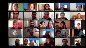 UNCUYO en red: 100 alumnos que están por el mundo charlaron online con Pizzi
