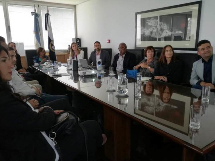 Autoridades de la Universidad de California visitaron la UNCuyo