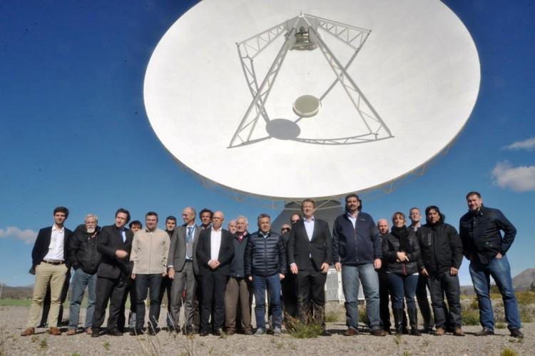 La UNCuyo fue parte de la comitiva que visitó la Antena de Espacio Profundo en Malargüe