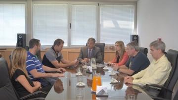 Delegación de universidad neozelandesa visitó la UNCuyo
