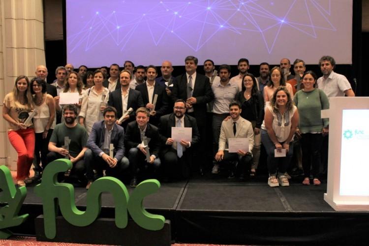 La FUNC premió a empresas, organizaciones y universitarios destacados a nivel local