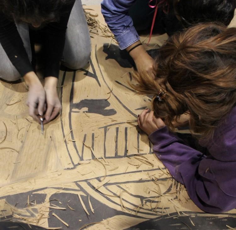 Estudiantes de Artes exhibirán sus grabados